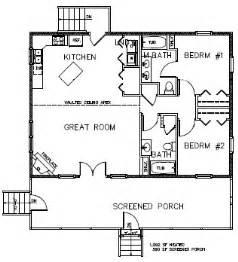2 bedroom cabin floor plans two bedroom floor plans