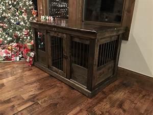 Handcrafted dog kennel and dog crate custom dog kennel for Wooden indoor dog pen