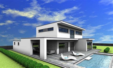 Moderne Offene Häuser by Veritashaus Veritas Haus Fertigteilhaus Passivhaus
