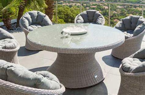 chaise en r sine tress e beautiful salon de jardin table ronde resine images