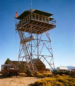 Mount Tom Fire Lookout, A United States Forest Service Lookout