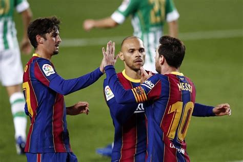 Barcelona 5-2 Real Betis: Player Ratings as Lionel Messi ...