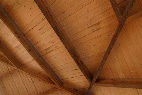 expose rafters   provide insulation