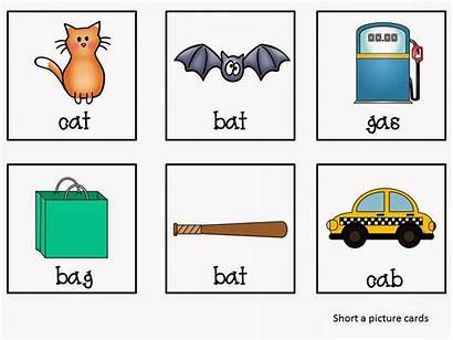 Cvc Short Words Cards Packet Without