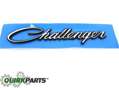 Dodge Challenger Image: Dodge Challenger Emblems Decals