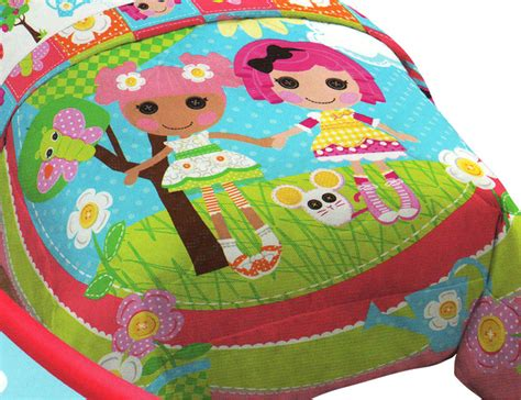 lalaloopsy sew magical rag dolls twin full bed comforter