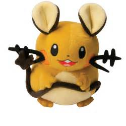 pokemon plush toys 8 inch dedenne