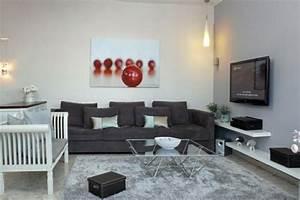 Graues Sofa Kombinieren : wohnzimmer grau in 55 beispielen erfahren wie das geht ~ Michelbontemps.com Haus und Dekorationen
