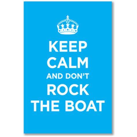 Don T Rock The Boat Ne Demek by Ne Mešajte I žabe Ali Ni Kredu I Sir Akademija