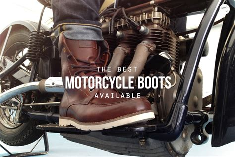 best motorbike boots riders on the storm the 6 best motorcycle boots