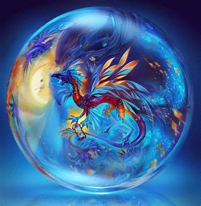 Orb Glass Dragon Bubble Ghost Orbs Water