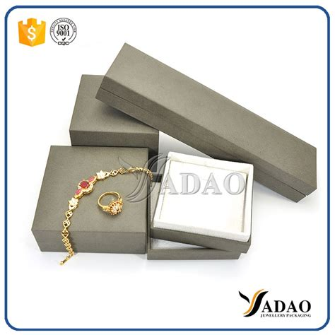 Leatherette Paper Jewelry Box,gift Boxes,ring Box