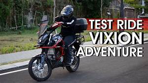 Test Ride New Vixion Lightning Adventure