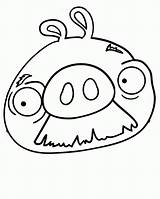 Coloring Pig Angry Birds Mustache Pages Face Walrus Pigs Drawing Bird Moustache Cute Drawings Sheets Printable Clipart Popular Clipartmag Getdrawings sketch template