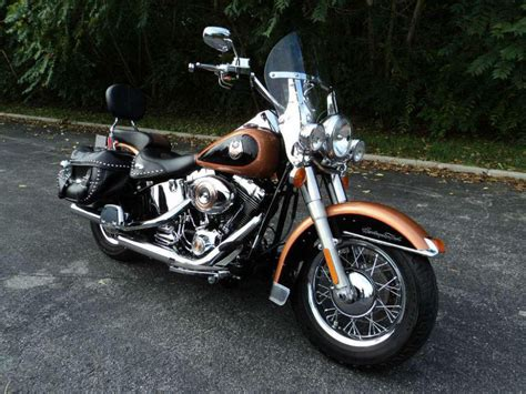 Harley Davidson Heritage Softail Review by 2008 Harley Davidson Flstc Heritage Softail For Sale On