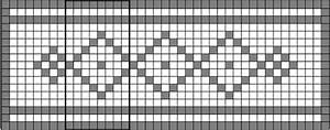 How To Read Filet Crochet Charts