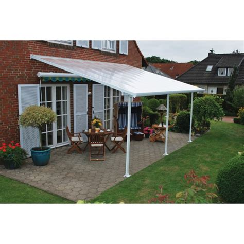 palram 10x24 feria patio cover kit white hg9324