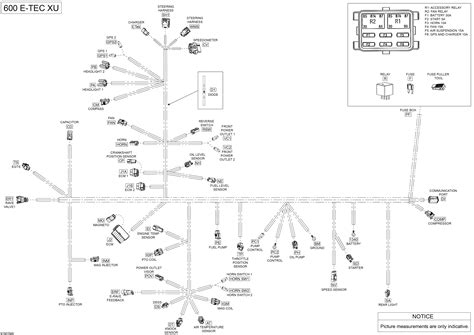 Skandic Wiring Diagram by каталог запчастей для Brp Skandic Swt 600 E Tec 2015 года