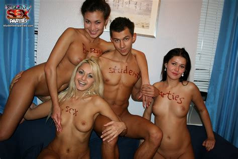 college sex party - drunk student sex party with beautiful Russian girls