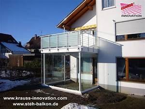 Wintergarten Mit Balkon : balkonsanierung balkone stehbalkon balkonbelaege gelaender balkonsanierung von krauss ~ Orissabook.com Haus und Dekorationen