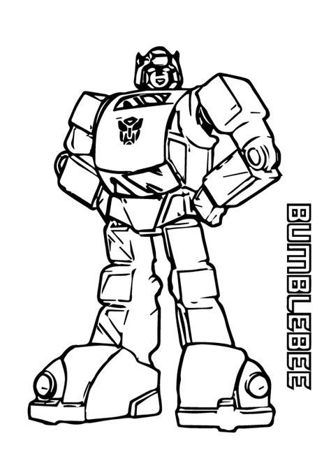 bumblebee coloring page  printable coloring pages