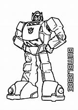 Bumblebee Coloring Pages A4 Transformers Printable Bee Bumble Transformer Print Find Categories Version sketch template