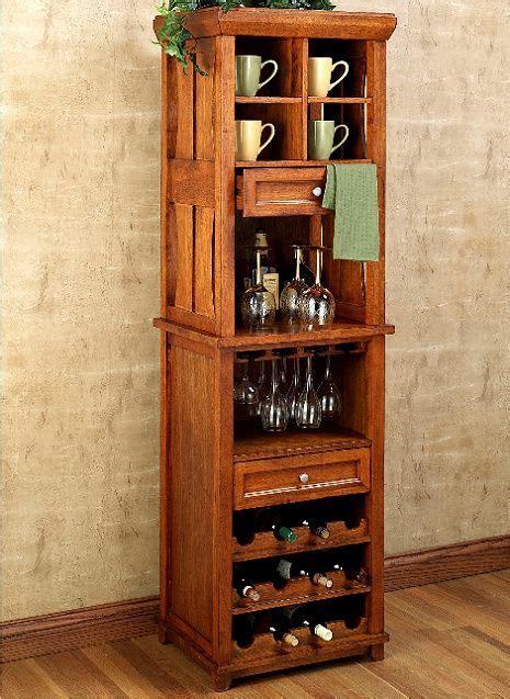 mission style liquor cabinet mission craftsman cherry wine rack bar cabinet modern