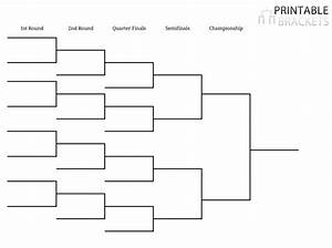 bracket template printable bracket template With 16 team bracket template
