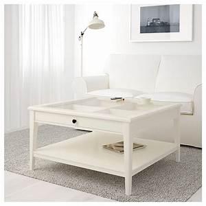 LIATORP Coffee Table Whiteglass 93 X 93 Cm IKEA