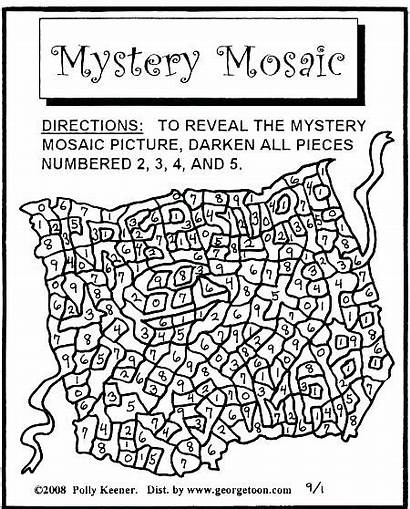 Graph Coloring Pages Grid Mystery Mosaic Polly