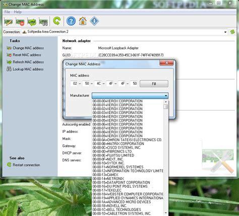 Amac Address Change by A Mac Address Change V5 3 Thscupza