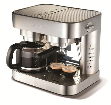 Both coffee and espresso come from the same unroasted green beans. Elipta Espresso & Filter Combination Coffee Maker | Coffee Machines