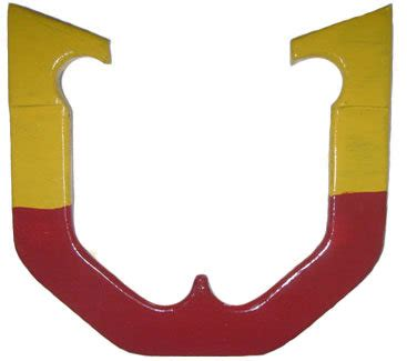 Light M&M Horseshoe - Front View