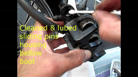 Front Disc Brake Caliper Stuck Royal Enfield Motorcycle