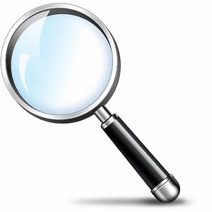 Magnifying glass search icon (PSD) - GraphicsFuel