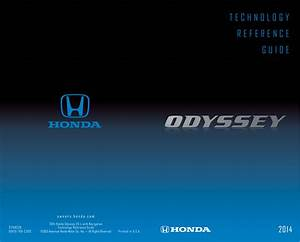 Honda Odyssey 2014 Quick Start Guide