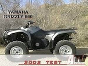 Atv Television - 2002 Yamaha Grizzly 660 Test