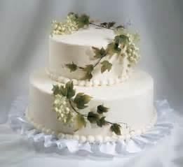 two tier wedding cake two tier wedding cakes with white flowers