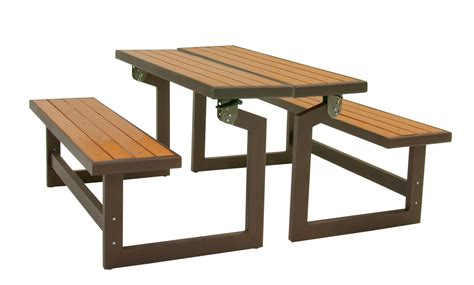 table benches turned into a bench that turns into