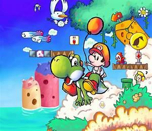 Yoshi's Island - Yoshi Fan Art (29077006) - Fanpop