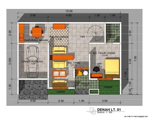 desain rumah minimalis  lantai  kamar tidur design