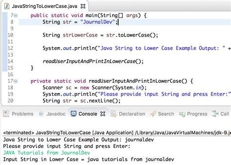 java string template java string to lowercase journaldev