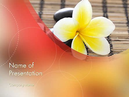 spa therapy powerpoint template backgrounds