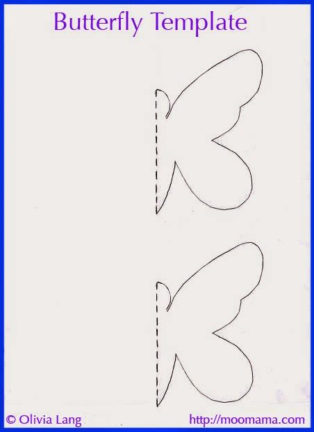 Moomama Diy Butterfly Wall Art With Free Templates