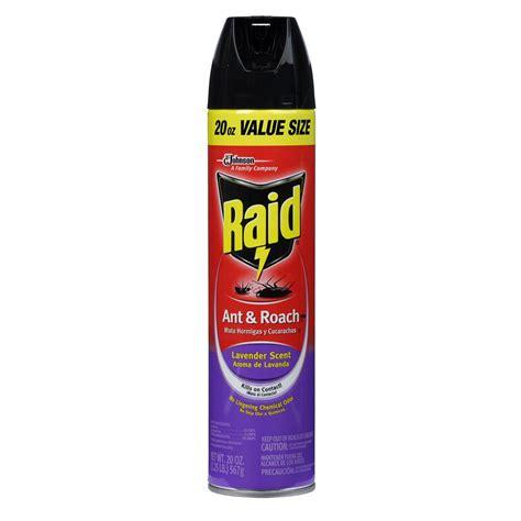 lavender bug spray raid ant and roach killer lavender aerosol 645283 the home depot