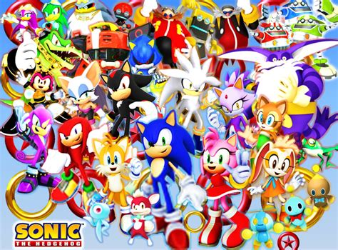 Am I the only one who enjoys all the Sonic characters/ why ...