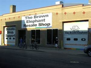 Brown Elephant Resale Shops MOVED Lakeview Chicago