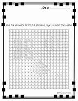 Slope Coloring Activity Finding sketch template