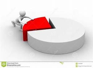 Financial Diagramme On White Background Stock Illustration