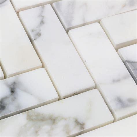 herringbone marble calacatta herringbone marble tile tilebar com